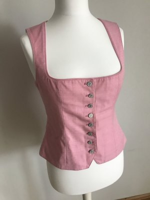 Berwin & Wolff Traditional Camisole light pink-pink wool