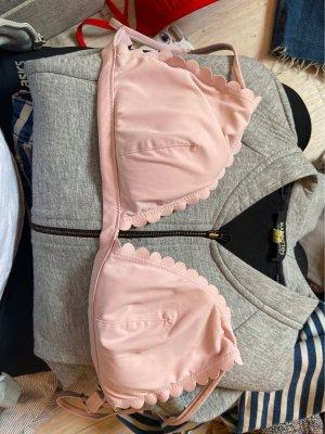 Rosa Triangel Bikinitop von H&M