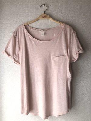 H&M T-shirt różany