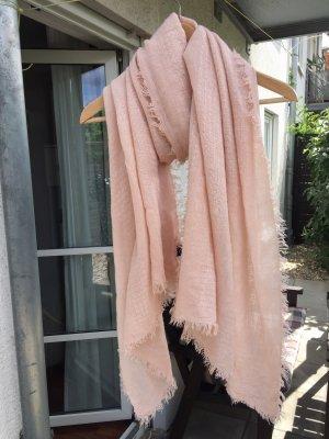 rosa Tuch/Schal