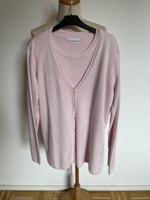 Helena Vera Sweater Twin Set light pink-pink