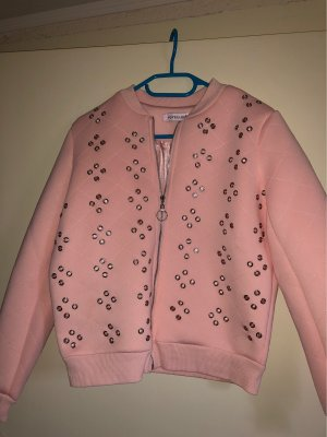 Voyelles Chaqueta bomber rosa-rosa claro