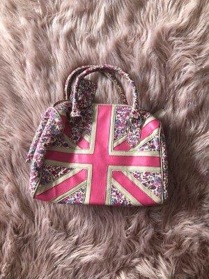 Rosa Union Jack Handtasche von Next