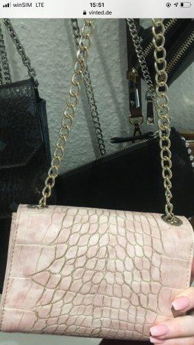 Rosa Valentino Tasche mor goldenen Details
