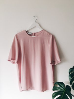 Rosa Vintage-Bluse