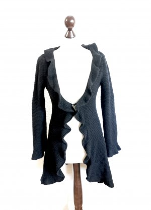 Rosa von Schmaus Giacca di lana nero Cachemire