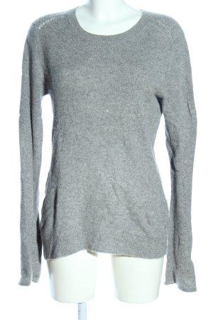 Rosa von Schmaus Kaszmirowy sweter jasnoszary Melanżowy W stylu casual