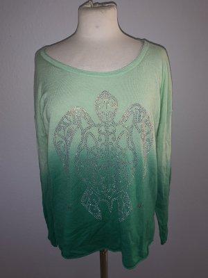 Rosa von Schmaus Pull en cashemire vert menthe-vert forêt