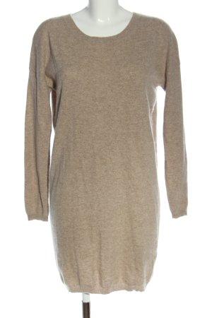 Rosa von Schmaus Swetrowa sukienka kremowy Melanżowy W stylu casual