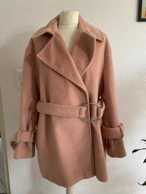 ASOS DESIGN Manteau d'hiver rosé