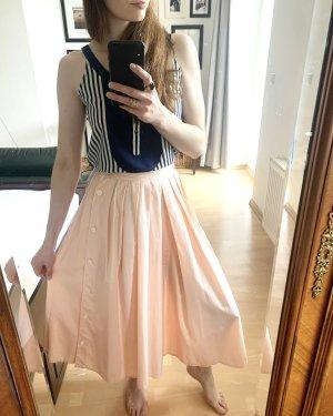 rosa weiß gestreifte Culotte Made in Frankreich