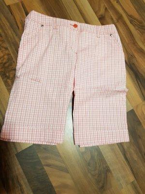 rosa weiß karierte Shorts NEU Gr. 36