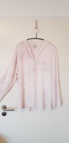 Rosa-weiße Bluse von Liberty mit Pailletten
