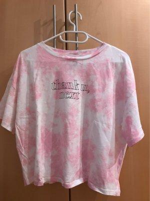 rosa-weißes Shirt
