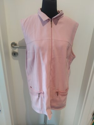 Rosa Weste / ärmellose Jacke in Größe 46 von Vilona Moda