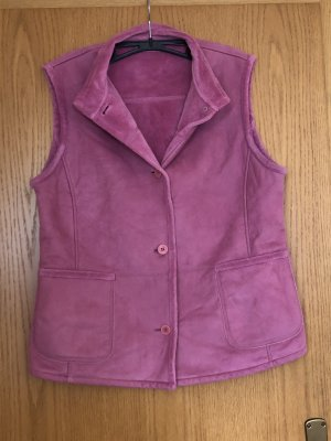 Gerry Weber Smanicato in pile rosa