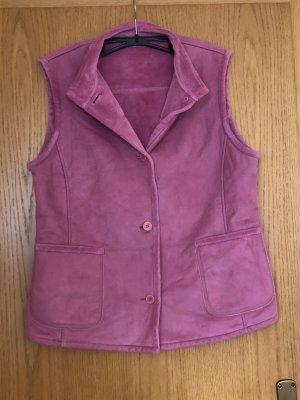 Gerry Weber Fleece vest roze