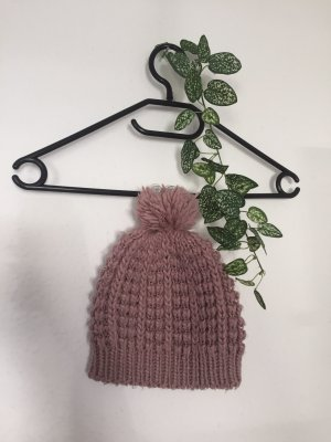 Pimkie Knitted Hat dusky pink