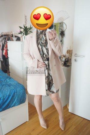 Rosa Zara Mantel/Longblazer