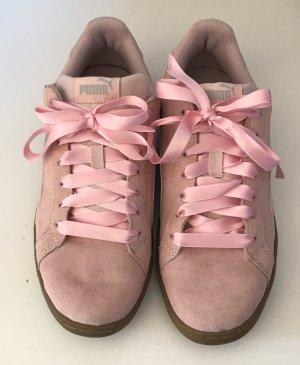 Rosafarbende Puma Sneaker