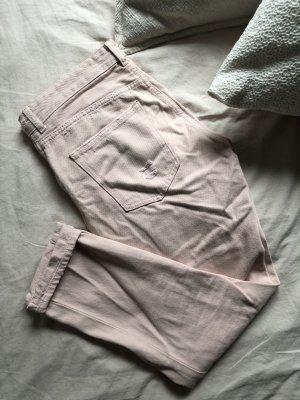 & DENIM 7/8-jeans rosé