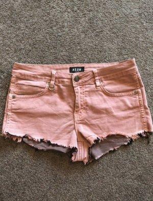 Rosafarbene Hotpants von NEUW, Größe 10 / 38