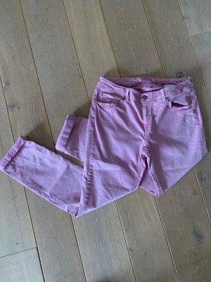 rosafarbene Jeans Street One