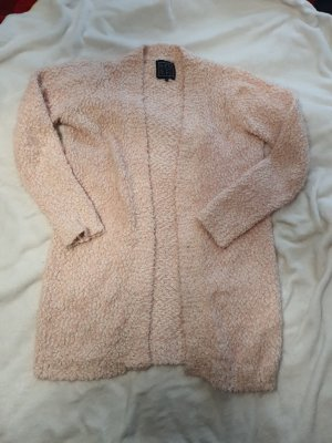 bien bleu Veste en tricot rosé