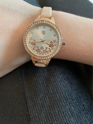 Rosafarbene Uhr