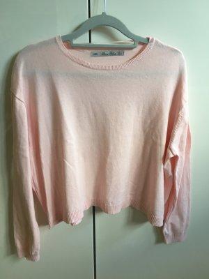 Zara Knit Cropped shirt veelkleurig