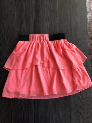 Ann Christine Falda asimétrica rosa-rosa claro