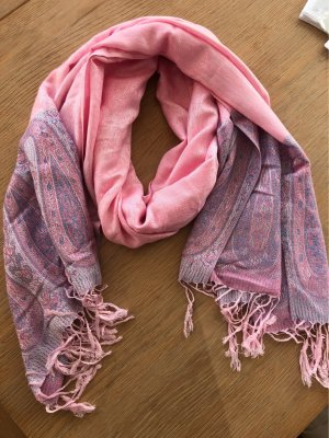 Rosafarbener Sommer - Cashmere - Schal
