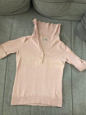 rosafarbenes Esprit T-Shirt im Seemannslook