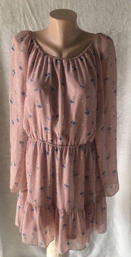 Rosafarbenes Kleid H&M Gr. 46