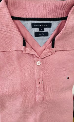 Tommy Hilfiger Polo Shirt light pink-pink