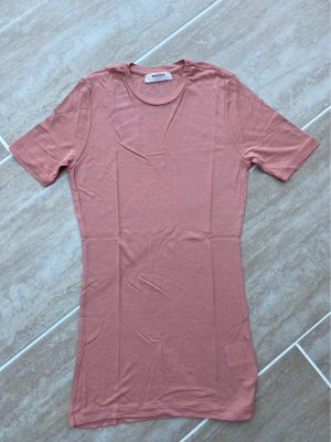MSCH Copenhagen Ribbed Shirt rose-gold-coloured-dusky pink