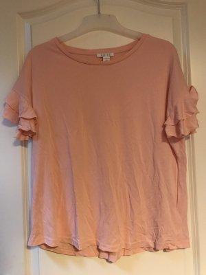 Amisu Shirt basique rose