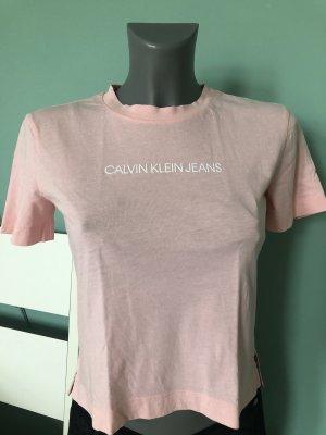 Rosafarbenes T-Shirt von Calvin Klein