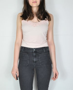 New Look Top corto rosa chiaro-rosa