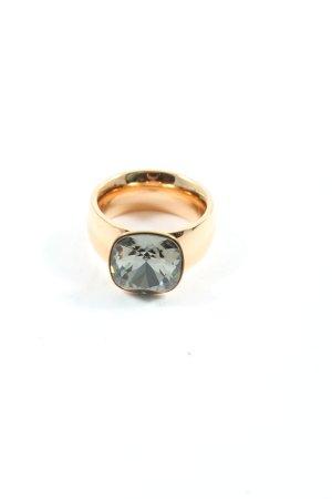 Rosalie Zdobiony pierścionek złoto Elegancki