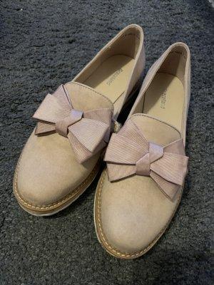 rosane Schuhe mit Schleife