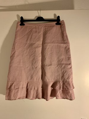 H&M Godet Skirt dusky pink