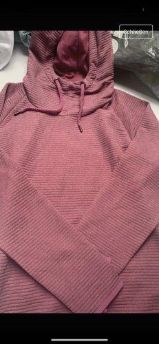 Crane Blusa con capucha rosa Licra