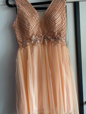 Robe de bal rosé