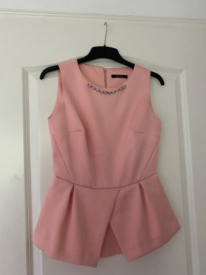 Mohito Short Sleeved Blouse rose-gold-coloured-pink
