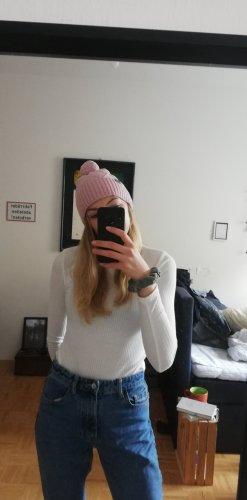 rosarote Mütze