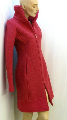 Rose' A Pois Abrigo de lana púrpura-carmín Lana