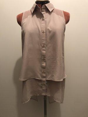 Silvian heach Blusa senza maniche rosa pallido