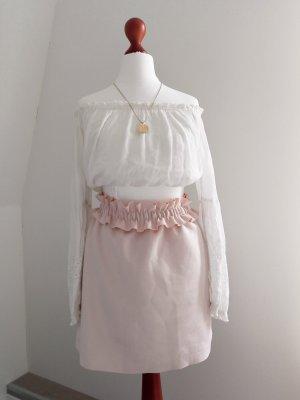 Reserved High Waist Skirt multicolored mixture fibre