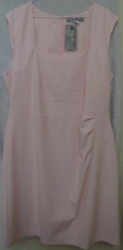 Ashley Brooke Robe fourreau rose clair tissu mixte